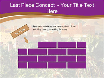 Moroccan kasbah PowerPoint Templates - Slide 46