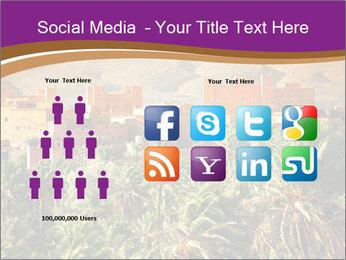 Moroccan kasbah PowerPoint Template - Slide 5