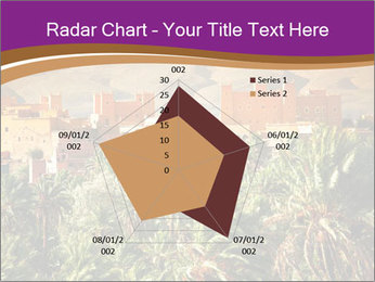 Moroccan kasbah PowerPoint Template - Slide 51
