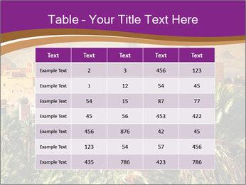 Moroccan kasbah PowerPoint Template - Slide 55