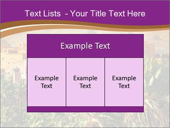 Moroccan kasbah PowerPoint Template - Slide 59