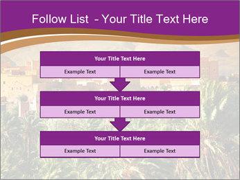Moroccan kasbah PowerPoint Templates - Slide 60