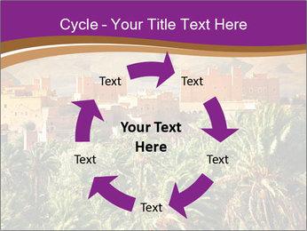 Moroccan kasbah PowerPoint Template - Slide 62