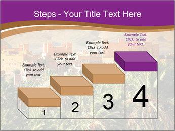 Moroccan kasbah PowerPoint Template - Slide 64