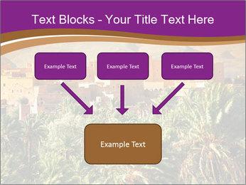 Moroccan kasbah PowerPoint Template - Slide 70