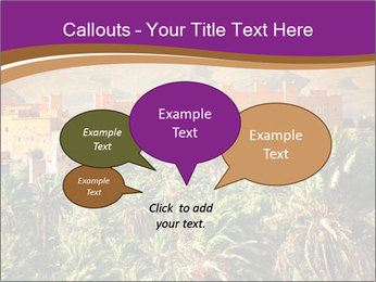 Moroccan kasbah PowerPoint Template - Slide 73