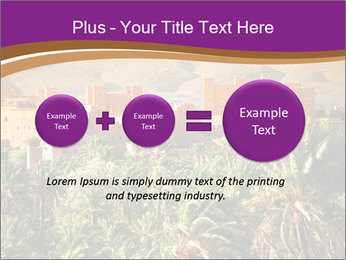 Moroccan kasbah PowerPoint Template - Slide 75