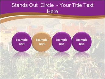 Moroccan kasbah PowerPoint Template - Slide 76