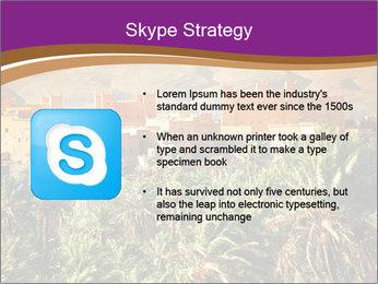 Moroccan kasbah PowerPoint Template - Slide 8