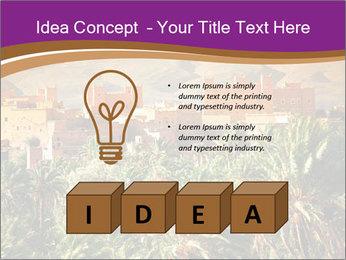 Moroccan kasbah PowerPoint Template - Slide 80