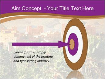 Moroccan kasbah PowerPoint Template - Slide 83