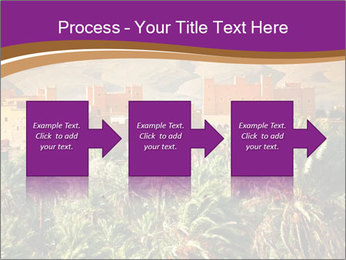 Moroccan kasbah PowerPoint Template - Slide 88