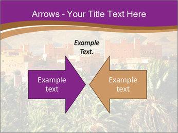 Moroccan kasbah PowerPoint Template - Slide 90