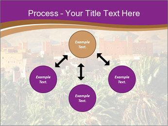 Moroccan kasbah PowerPoint Template - Slide 91