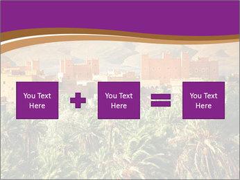 Moroccan kasbah PowerPoint Template - Slide 95