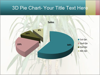 Green houseplant PowerPoint Template - Slide 35