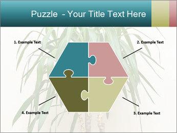 Green houseplant PowerPoint Templates - Slide 40