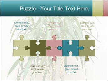 Green houseplant PowerPoint Templates - Slide 41