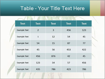 Green houseplant PowerPoint Templates - Slide 55