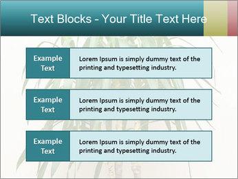 Green houseplant PowerPoint Templates - Slide 58
