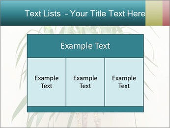Green houseplant PowerPoint Template - Slide 59