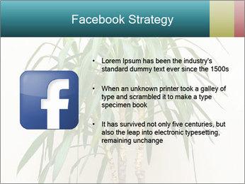 Green houseplant PowerPoint Templates - Slide 6