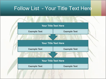 Green houseplant PowerPoint Template - Slide 60