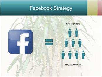 Green houseplant PowerPoint Templates - Slide 7