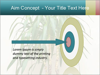 Green houseplant PowerPoint Template - Slide 83