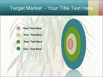 Green houseplant PowerPoint Templates - Slide 84