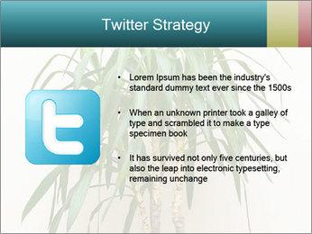 Green houseplant PowerPoint Templates - Slide 9