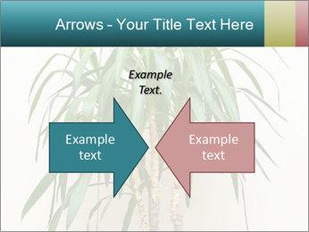 Green houseplant PowerPoint Templates - Slide 90