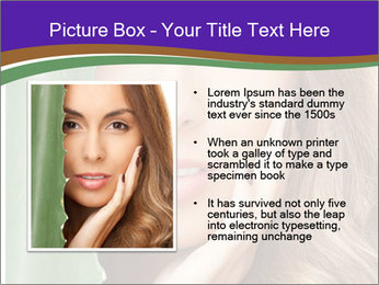 Picture of lovely woman PowerPoint Templates - Slide 13
