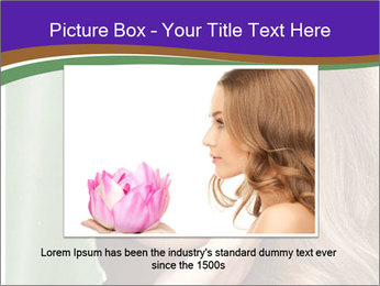 Picture of lovely woman PowerPoint Templates - Slide 15