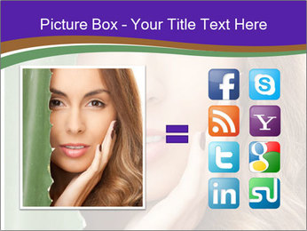 Picture of lovely woman PowerPoint Templates - Slide 21