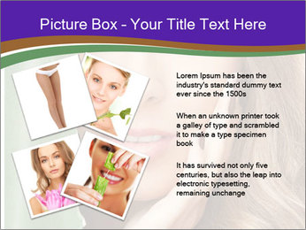 Picture of lovely woman PowerPoint Template - Slide 23
