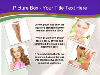 Picture of lovely woman PowerPoint Templates - Slide 24
