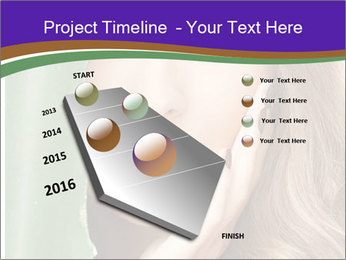 Picture of lovely woman PowerPoint Template - Slide 26