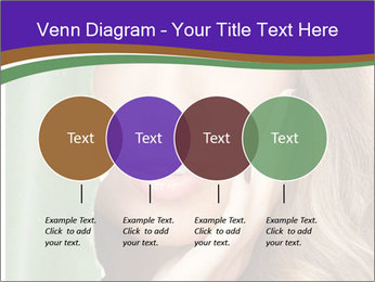 Picture of lovely woman PowerPoint Templates - Slide 32
