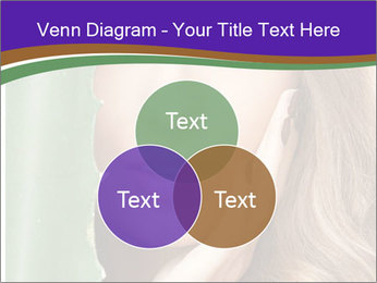 Picture of lovely woman PowerPoint Templates - Slide 33