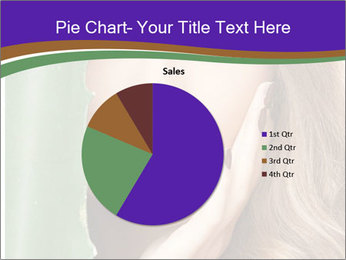 Picture of lovely woman PowerPoint Templates - Slide 36