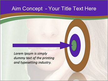 Picture of lovely woman PowerPoint Template - Slide 83