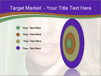 Picture of lovely woman PowerPoint Templates - Slide 84