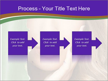 Picture of lovely woman PowerPoint Templates - Slide 88