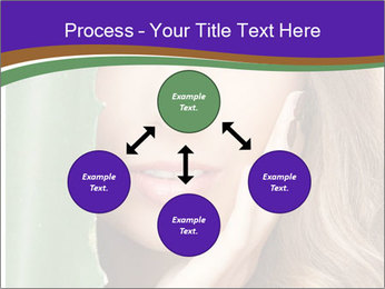 Picture of lovely woman PowerPoint Template - Slide 91