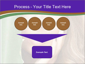 Picture of lovely woman PowerPoint Templates - Slide 93