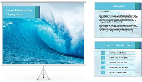 Blue Ocean PowerPoint Template