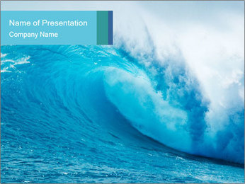 Blue Ocean PowerPoint Templates - Slide 1
