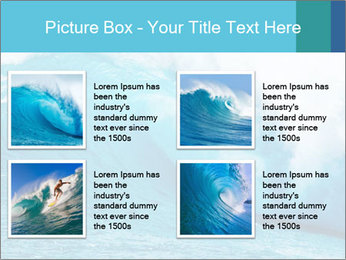 Blue Ocean PowerPoint Template - Slide 14