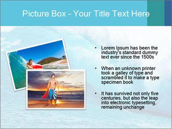 Blue Ocean PowerPoint Template - Slide 20